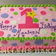 Half Sheet First Birthday