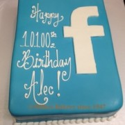 Facebook Cake .Like Us On Facebook