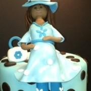 Baby On the Way Cupcake Tree
