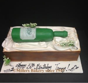 Wine Bottle Milestone