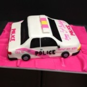 Girl Police Car