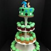 Baby Monkey Cupcake Tree