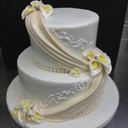 Two tier Wedding with Swags