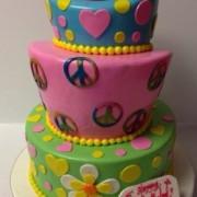 Topsy Turvy Peace ,Love & Cake