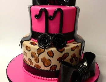 Turning 11 Was Never So Cool With This Two Tier Hot Pink Leopard Print With Shiny Oversized Bow On Top You May Also Like