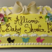 1/2 Sheet Baby Shower