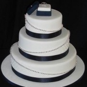 Black and White Fondant
