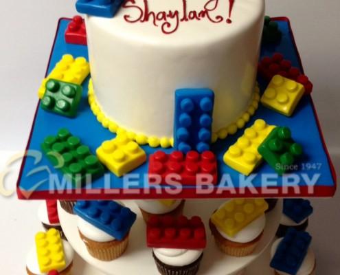 Lego Cupcake Tree