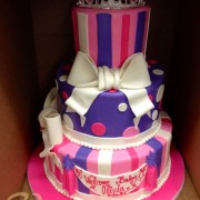 Tiara Three Tier Baby Shower