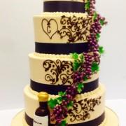 Fall Wine Lovers Wedding