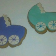 Baby Carriages Cookie