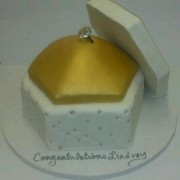 Engagement Ring Pillow Box