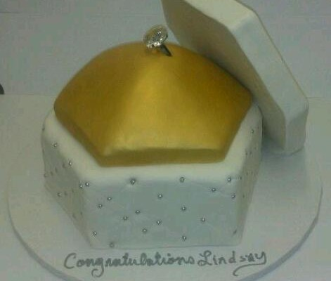 Engagement Ring Pillow Box