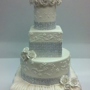 Formal To Intimate Wedding Cakes