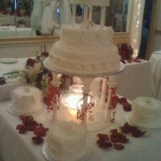 7 Piece Wedding Cake