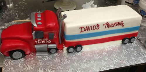 Tractor Trailer Millers Bakery