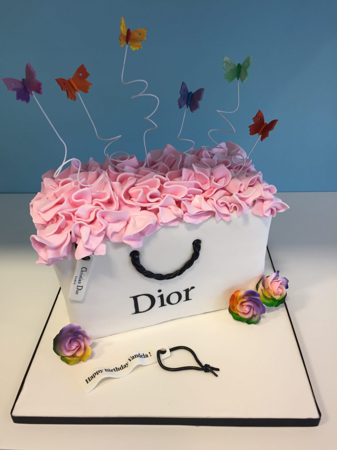 Christian Dior Shopping Bag Millers Bakery